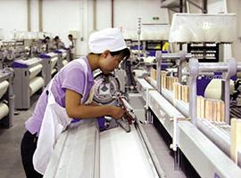 2016纺织工业增加值同比增长4.9% 运行状态平稳