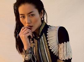 刘雯、金小妹等七位超模演绎《Vogue》封面大片