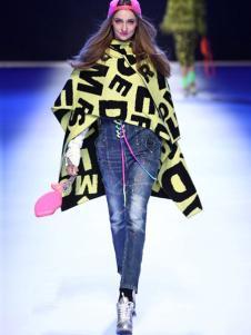 蒂斯弗女装斗篷式外套