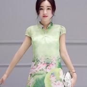 五色五图女装 改良版旗袍更显韵味