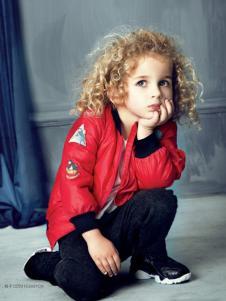 豆豆衣橱童装豆豆衣橱童装男童红色休闲外套