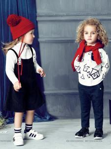 豆豆衣橱童装豆豆衣橱童装女童黑色背带裙