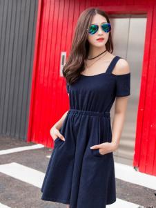 音非女装17夏季新款时尚连衣裙