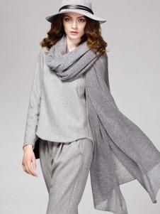 顿妮娅女装灰色套装