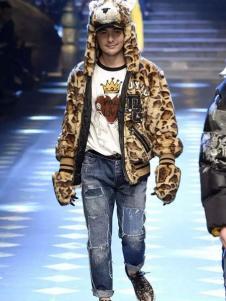 杜嘉班納2017秋冬新品豹紋外套