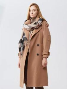 范可儿女装中长款大衣
