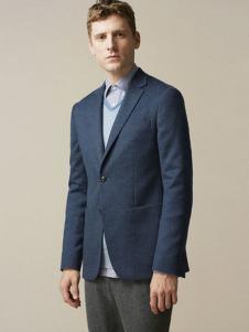 鄂尔多斯男装单扣西装外套