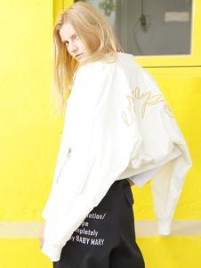 BABY MARY春季米色短外套
