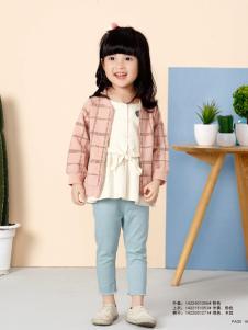 兔子杰罗粉色短款春装外套