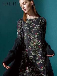 佛尼亚女装印花裙