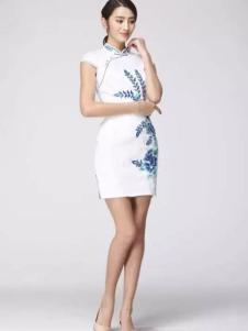 凤翔歌女装中国风雅致旗袍