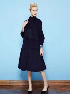 纷漫女装蓝色外套