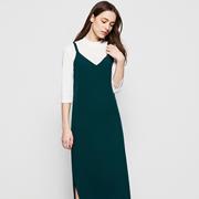 春季出行怎么搭,五色五图推荐吊带裙+针织毛衣!