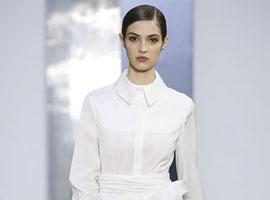 2017秋冬纽约时装周:Carolina Herrera白衬衫诱惑