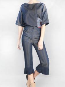 零时尚17春季新款时尚套装