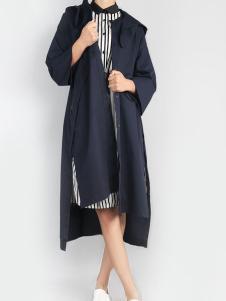 零时尚17春季新款时尚风衣