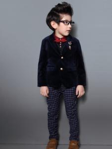福童宝贝童装男童小西服外套