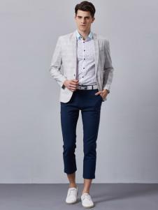 GD&ZS格度佐致男装隐性格纹西服