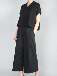 零时尚17夏新款阔腿裤