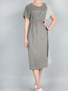 零时尚17春季新款时尚连衣裙