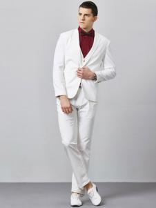 GD&ZS格度佐致男装白色西装套装