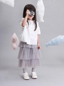 谷子屋童装女童多层次纱裙