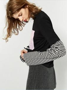 布莎卡时尚简约条纹新品
