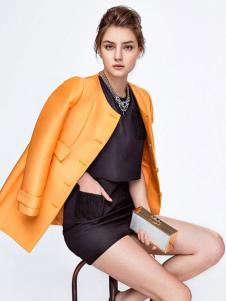 GOOGBS谷邦女装橙黄色外套