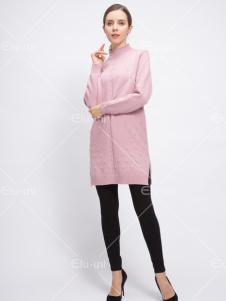 依路佑妮17春新款时尚毛衣