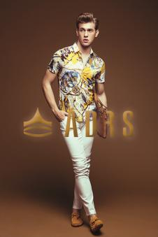 ADRS男装Spring/Summer短袖衬衫