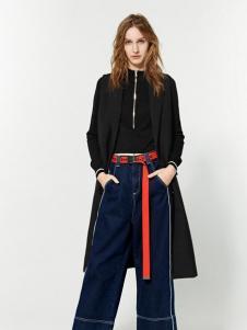 布莎卡时尚黑色外套新品