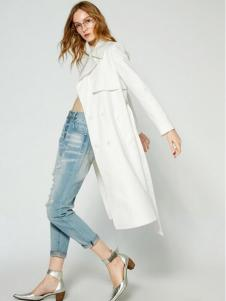 布莎卡春季时尚休闲长款外套
