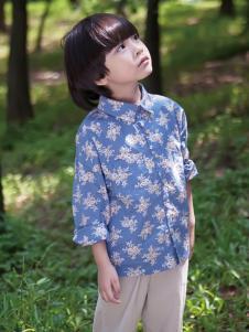 谷子屋童装男童衬衫