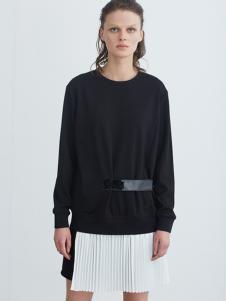 COCO RYLLY女装黑色针织衫
