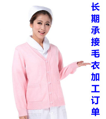 来图护士毛衣加工厂