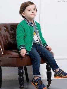 虹猫蓝兔童装绿色幼童外套