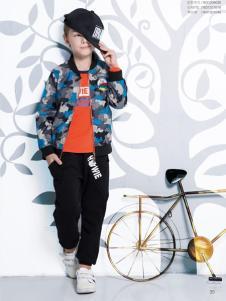 虹猫蓝兔童装男童休闲夹克衫