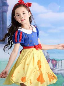 红熊谷童装白雪公主表演服