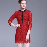 爱为女装 红色穿出时尚品味