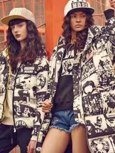 Apashop火星商店非主流休闲羽绒服