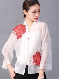 华艺嘉年女装白色两件套