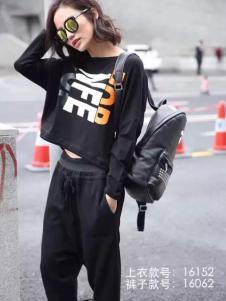 HUAZIYI花梓伊女装大版蝙蝠袖T恤