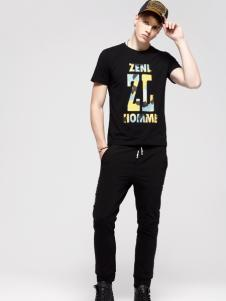 佐纳利新款男士T恤