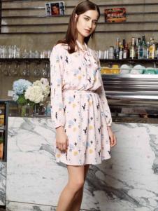 ...minette2017连衣裙新款