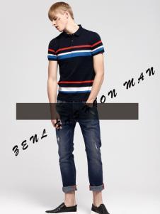 佐纳利男装T恤