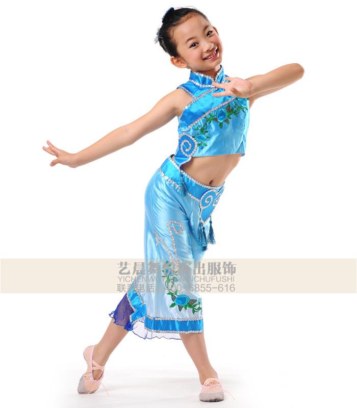 新款儿童演出服第八届小荷风采《惊蛰》幼儿舞蹈表演服