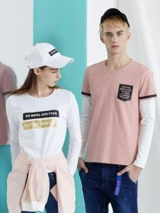 GK&EK积客亿客2017春夏新品简约T恤