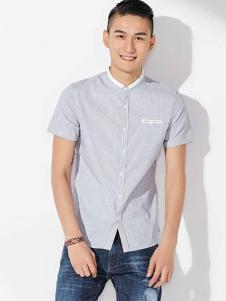 JAMSUN积上风尚男装时尚修身衬衫