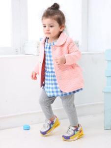 企鵝仔仔嬰童裝粉色外套