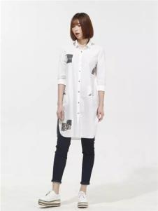 云上写生2017新品时尚长衬衫
